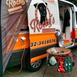 Rocky´s Grooming Van on tour
