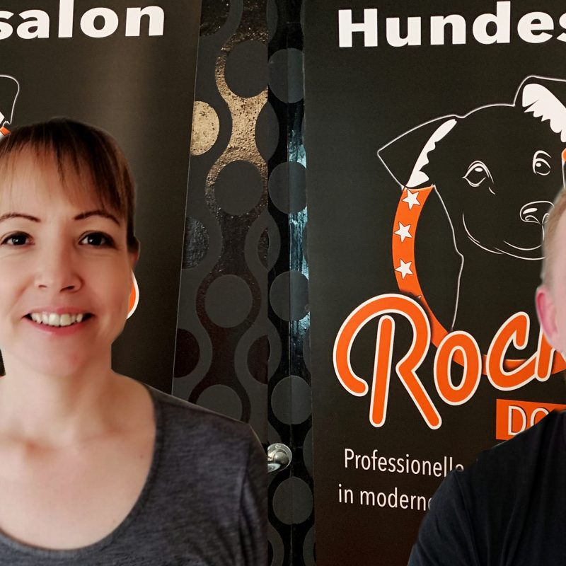 Neu im Team: Top Groomer Sven & Julie